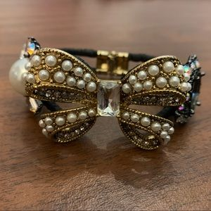Betsey Johnson Bow Bracelet
